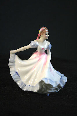 Royal Doulton 1970 Ninette Porcelain Lady Figurine HN3215