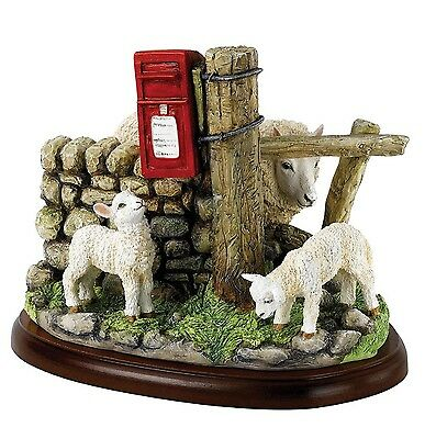Border Fine Arts Sheep May Safely Graze Sheep Model