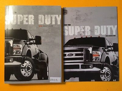 2008 Ford Super Duty  Owners manual, 2 Book Set