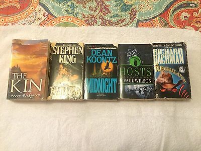 Lot Of 5 Paperback Novels Used Condition