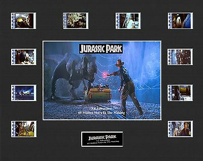JURASSIC PARK MOUNTED 35mm FILM MOVIE CELL GREAT GIFT