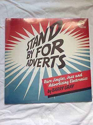 Stand By For Adverts - Barry Gray Sealed Vinyl LP