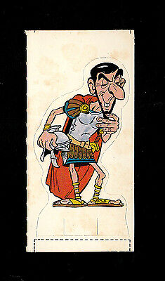 "Weetabix 1976 Scarce ( Animated ) Card "" Felonius - Asterix His Friends & Foes"