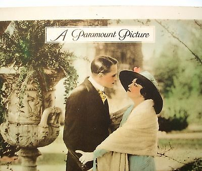 1918 Silent Film Movie Poster Lobby Card PAULINE FREDERICK Tinted 11x14 Vintage