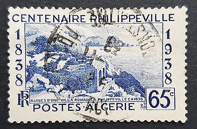 Philippeville Centennial 1938 used Algeria stamp for sale see below