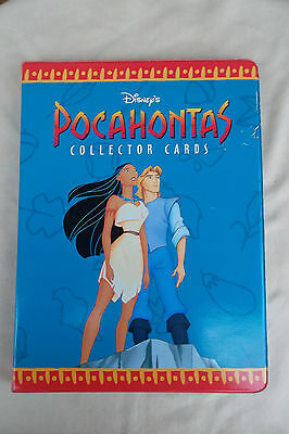 Disney Pocahontas Collector Card Binder with Variety of Trading Cards Skybox