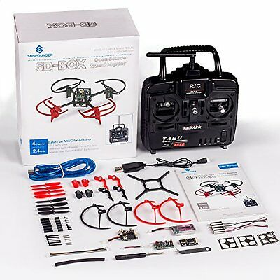 SunFounder 6D-Box MWC Multiwii Drone Quadcopter DIY Starter Kit for Arduino, RC,
