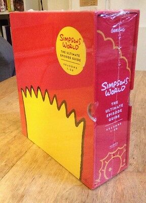 Brand New Unopened Mint Simpsons World The Ultimate Episode Guide