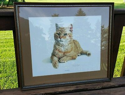 Morris the Cat by Charles Trace Picture Frame from 1976