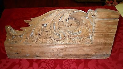 Wooden  Antique Architectural Treasures Stair Ends 28