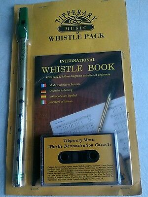 Whistle Pack includes whistle, instruction book,and demonstration cassette