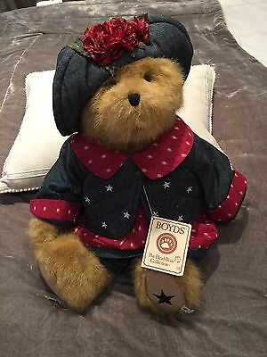 Boyds Best Dressed Bear New With Tags