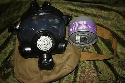 Russian gas mask GP-21 with filter size 1
