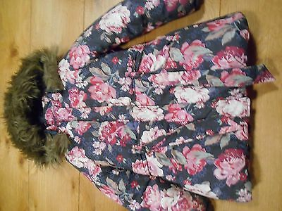 Girls Monsoon Winter Coat - 7-8 Years