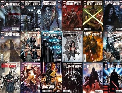 Darth Vader Comic Lot 1-18 First prints, inlcudes rare variant
