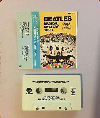 The Beatles – Magical Mystery Tour - USA Cassette Tape - [B]