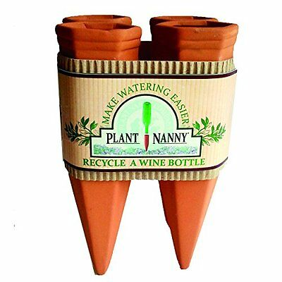 Plant Nanny 6051 4 Count Wine Bottle Stake Set