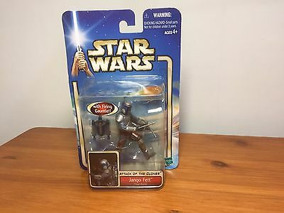 STAR WARS Jango Fett Action Figure sealed new