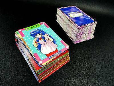 Ranma 1/2 Card Trading SET of  150 Bulk Japan Anime Urusei Yatsura Lum Inuyasha