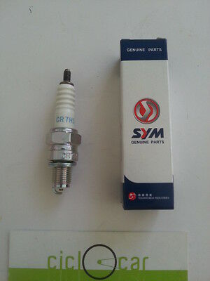 Candle Ngk Cr7Hsa Original Sym 50 4T - Scooter 50 4 Times Engines Sanyang