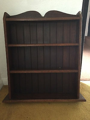 Vintage Wooden Wall Shelving/Display Unit - Perfect for shabby chic