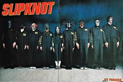 SLIPKNOT-group poster-original band