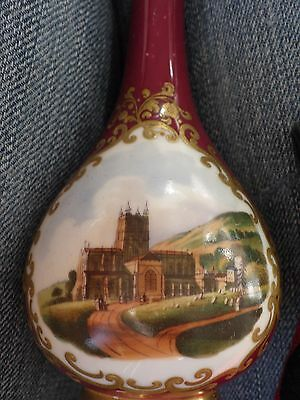 Chamberlain's - Worcester Porcelain Perfume / Scent Bottle with Stopper  [c1830]