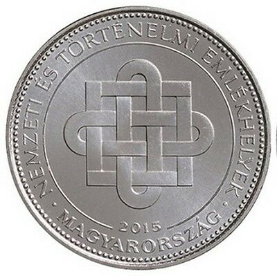 Hungary 50 forint 2015 National Memorials UNC Ungarn Commemorative from Roll