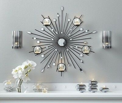 PartyLite Starburst Candle Wall Sconce
