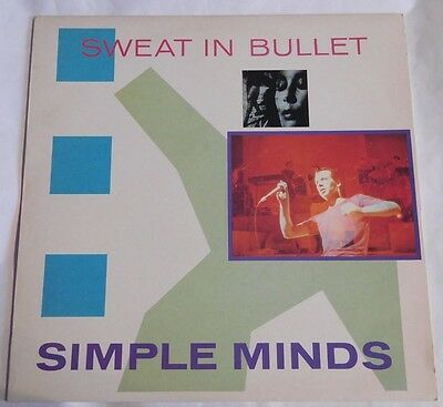 "Simple Minds - Sweat In Bullet: 12"" Single (1981)"