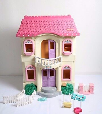 Fisher Price Loving Family Grand Dollhouse Lot – Furniture, Accessories