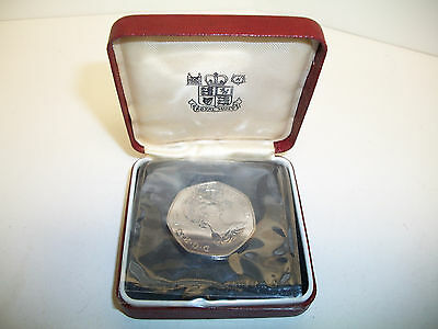 Great Britain 1973 50 Pence Proof Coin