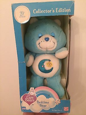 Vintage Bedtime Bear Care Bear 20th Anniversary Edition in Box
