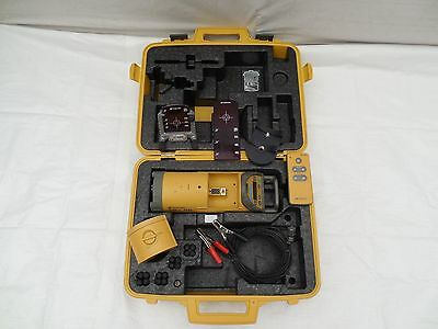 Topcon TP-L4B Red Beam Pipe Laser System Clean