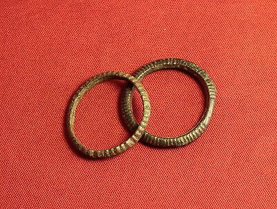 Lot of 2 Ancient Celtic Finger Ring