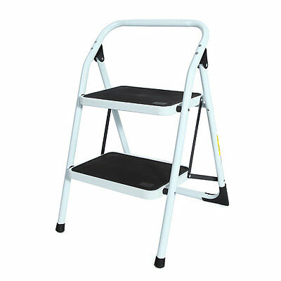 Incredible 2 Two Step Folding Family Ladder Household Portable Mini Ibusinesslaw Wood Chair Design Ideas Ibusinesslaworg