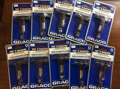 Graco Rac 5 Airless Paint Spray Tips Lot Of 10 Size 315