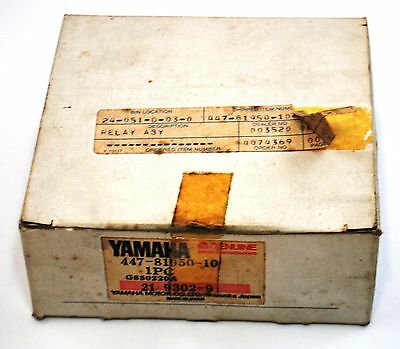 NOS OEM Yamaha IGNITION RELAY TX650 XS650 OBSOLETE 447-81950-10-00