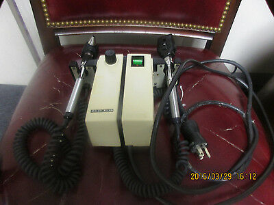 Welch Allyn Transformer Otoscope Ophthalmoscope Model 74710 With Heads