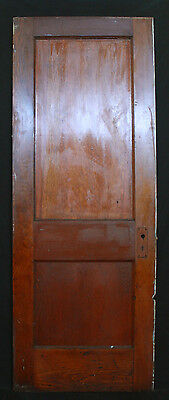 "5 avail 28""W Antique Vintage Interior Solid Wood Wooden Doors 2 Recessed Panels"