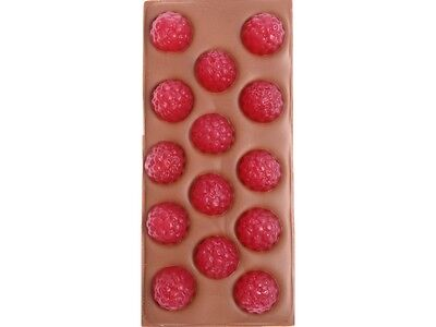 Raspberries Chocolate Block - Freckleberry Brand Individually Wrapped