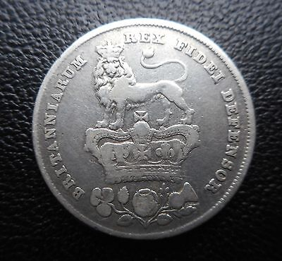 1826 King George 1V Shilling   VERY COLLECTABLE