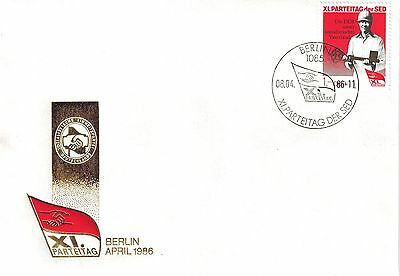 DDR FDC Mi.Nr. 3013 Blockmarke aus Block 83/First Day Cover East Germany/ Lot 56