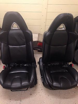 Mazda RX8 black leather interior seats front and rear heated 231 2004