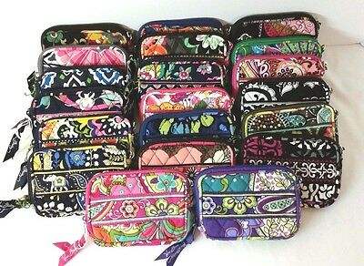 Vera Bradley Tech Case Small Wristlet All Purpose Accessory in Many Choices NWT