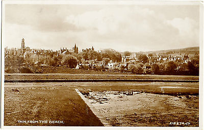 Tain from the beach (Valentine's 212274-Real Photograph)
