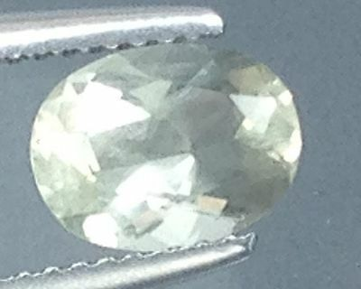 1.30Cts  Lustrous !!! Natural Andasine  Gems  Oval (4733)