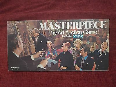 VINTAGE MASTERPIECE GAME by PARKER - THE ART AUCTION GAME