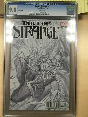 Dr. Doctor Strange #2 Cgc 9.8 Sketch Cover Variant Rare 1:200