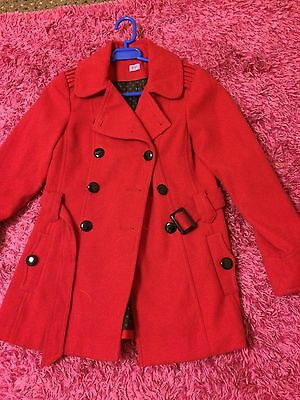 Coat by F&F size 11-12 years red